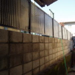万年塀改修工事 工事後